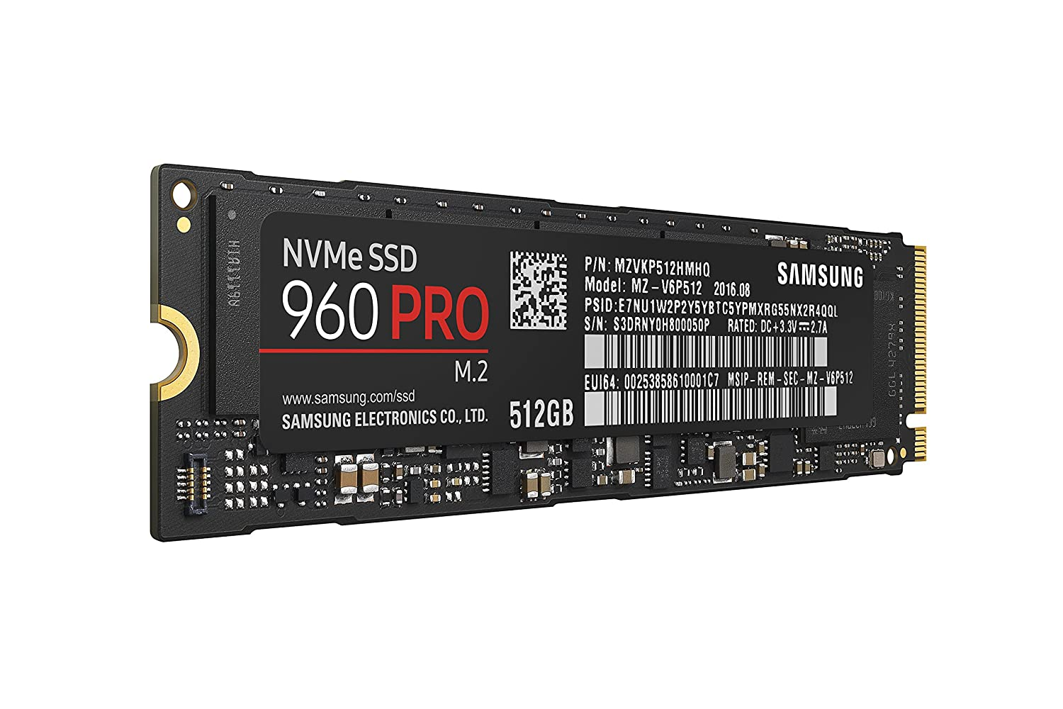 Samsung 960 Pro 512GB Review - Much faster storage