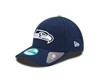 New Era Men s the League 9Forty Seattle Seahawks Offical Team Colour  Baseball Cap a629bc742