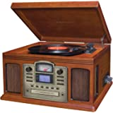Crosley Director CD Recorder Turntable with Cassette Player