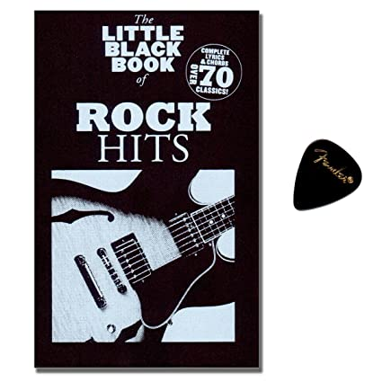 Little Black Book Of Rock Hits - Songbook For Piano, Vocal and ...