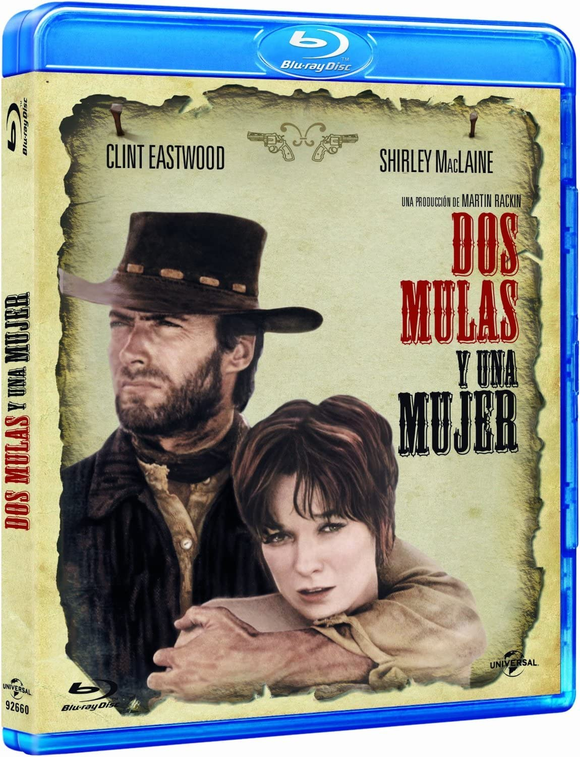 Dos Mulas Y Una Mujer Blu Ray Import 2013 Clint Eastwood Shirley Macl Amazon Co Uk Dvd Blu Ray