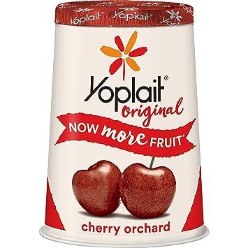 Yoplait Original Yogurt Low Fat Cherry Orchard 60 Oz
