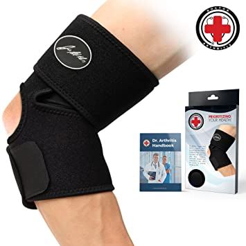 ef321ef4ef Doctor Developed Elbow Brace & Elbow Support and Doctor Written Handbook —Guaranteed  Relief & Support