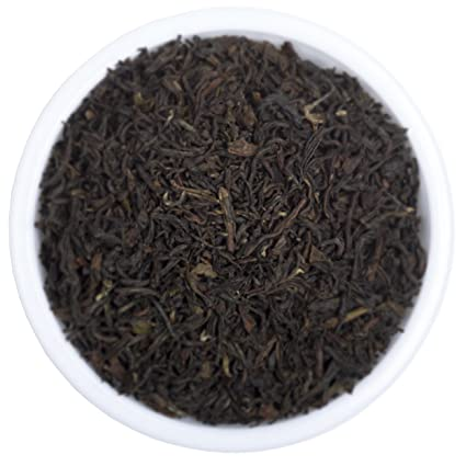 Premium Darjeeling Organic Black Tea - Best Loose Leaf Second Flush Tea Includes Powerful Antioxidants and Minerals - Makes Healthy Kombucha - Fresh Black Tea From 2016 Harvest