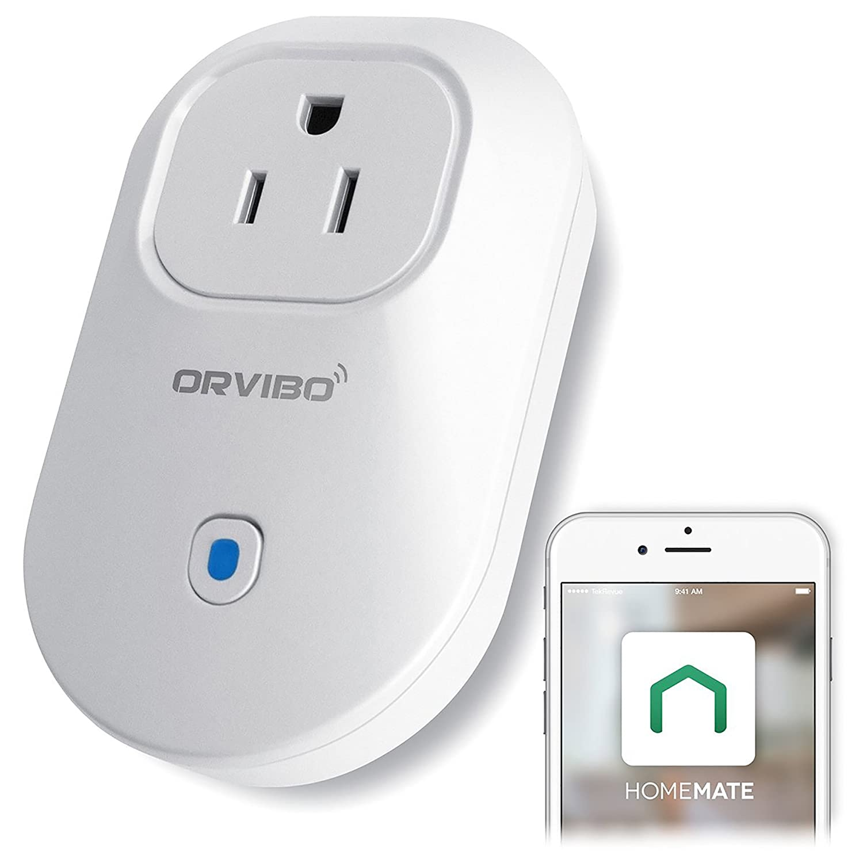 Amazon.com: Orvibo Wi-Fi Smart Socket Outlet US Plug, Turn ON/Off ...