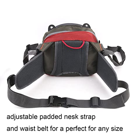 Amazon.com   M MAXIMUMCATCH Maxcatch Fly Fishing Waist Bag Lightweight Waist  Pack Line Nipper Tippet Holder Forceps   Sports   Outdoors dac58fc362b14
