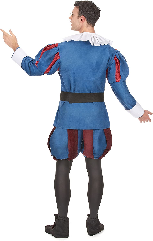 Disfraz de Cervantes para hombre - Única: Amazon.es: Juguetes y juegos