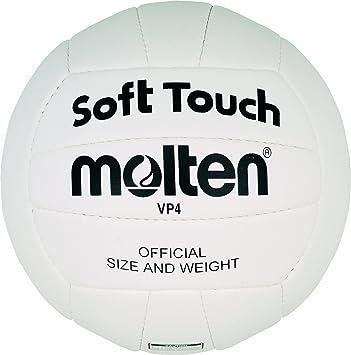 MOLTEN VP4 - Balón de Voleibol para Interior (Cuero, Entrenamiento ...