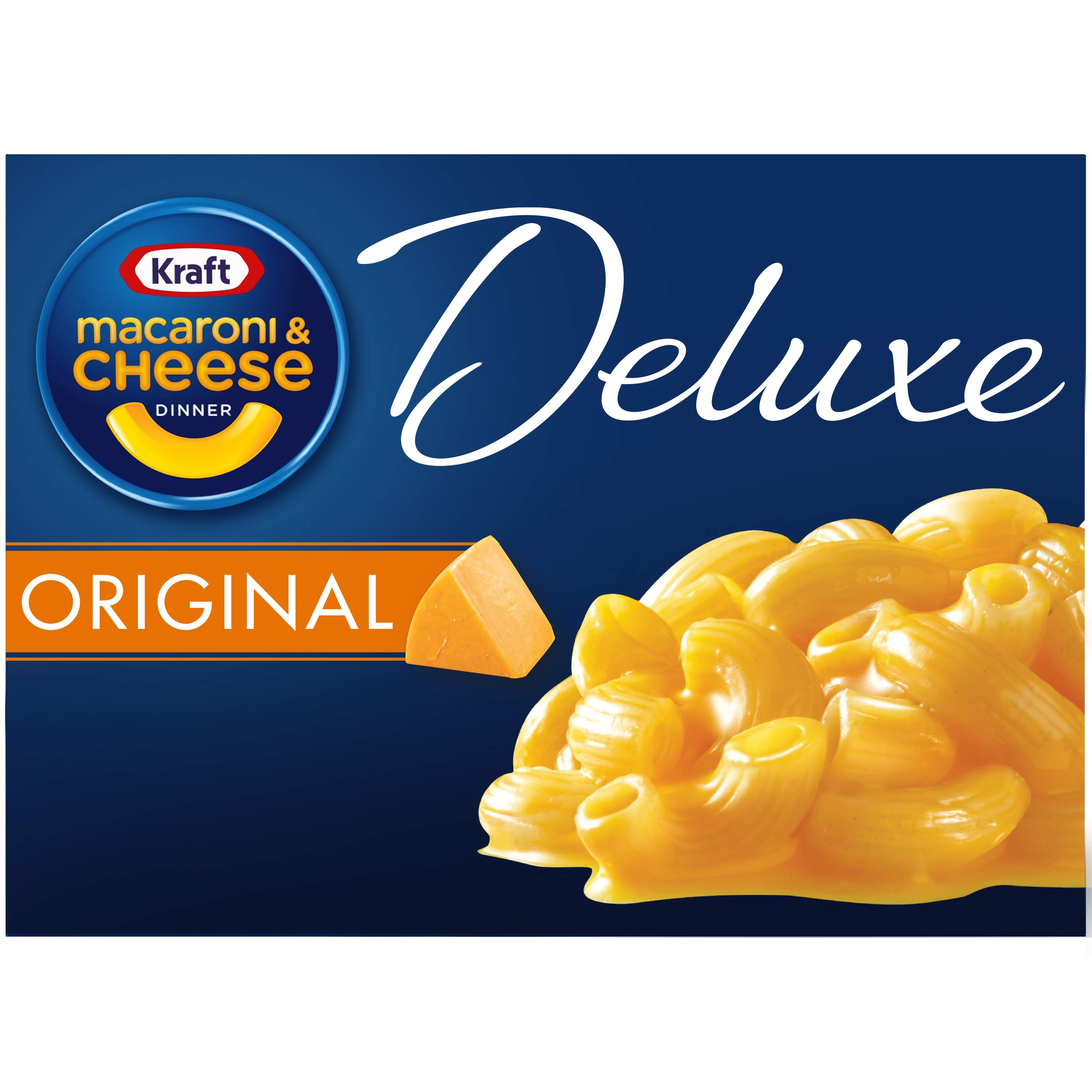 Kraft Deluxe Original Flavor Macaroni and Cheese Dinner (14 oz Box)