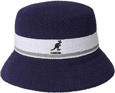 Kangol Sombrero Bermuda Stripe Bucket de Pescador Tela: Amazon.es ...
