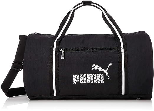 c67ed54c89 Puma - WMN Core Barrel Bag s blk - Sac de Sport - Noir - Taille Unique:  Amazon.fr: Vêtements et accessoires
