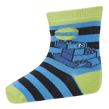 LEGO wear Duplo AMIN 701, Calcetines para Niñas, Azul (Midnight Blue 588)