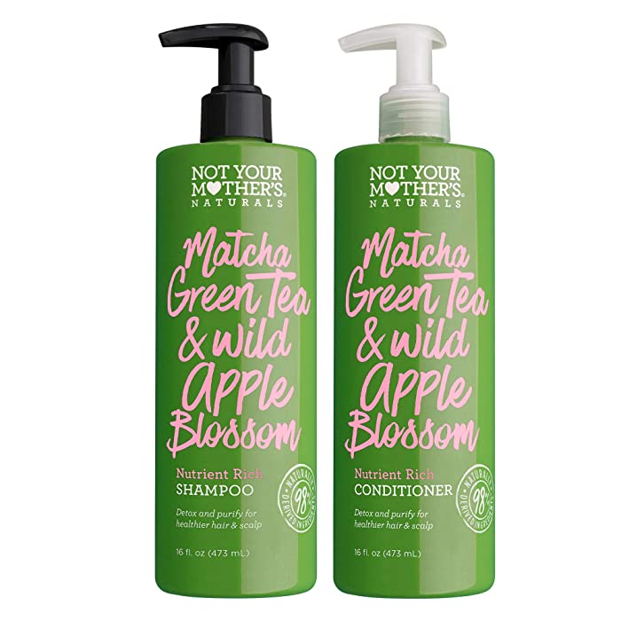 Top 7 Green Tea And Wild Apple Blossom Shampoo