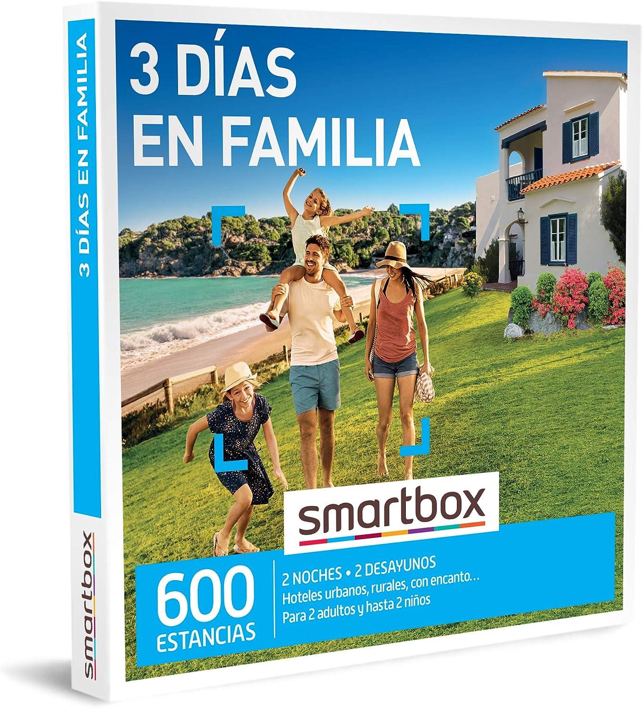 smartbox 3 dias en familia