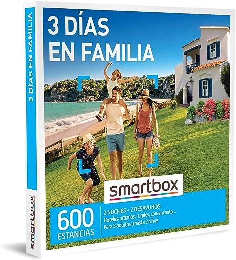 SMARTBOX - Caja Regalo - 3 días en Familia - Idea de Regalo - 2 ...