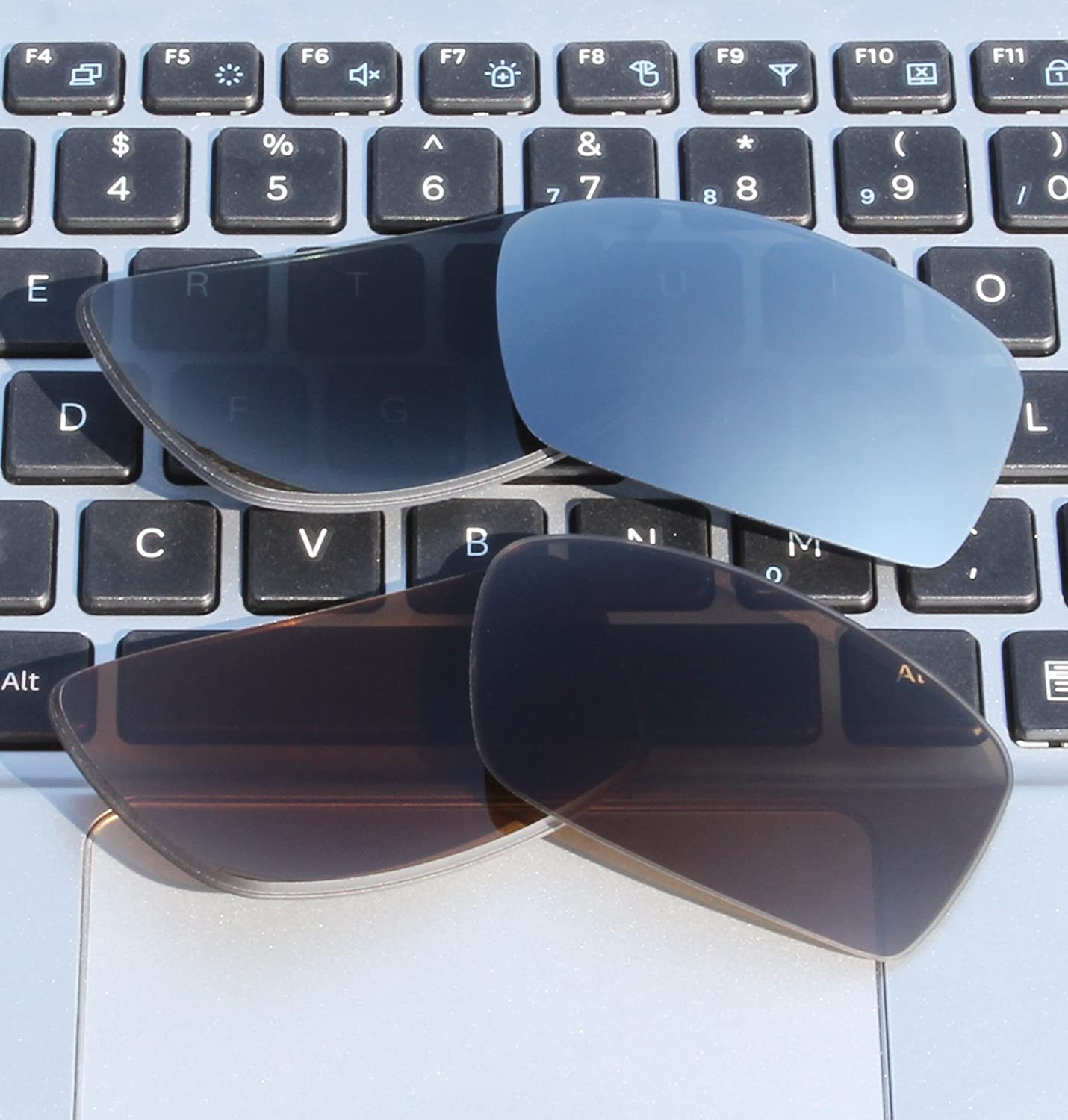 7ddfe1745c ... COLOR STAY LENSES 2 Pairs 2.0mm Thickness Polarized Replacement Lenses  for Oakley Square Wire II ...