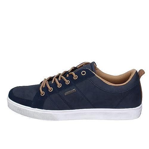 56ee56fdcb06 Goodyear Sneakers Homme Cuir Bleu 40 EU  Amazon.fr  Chaussures et Sacs