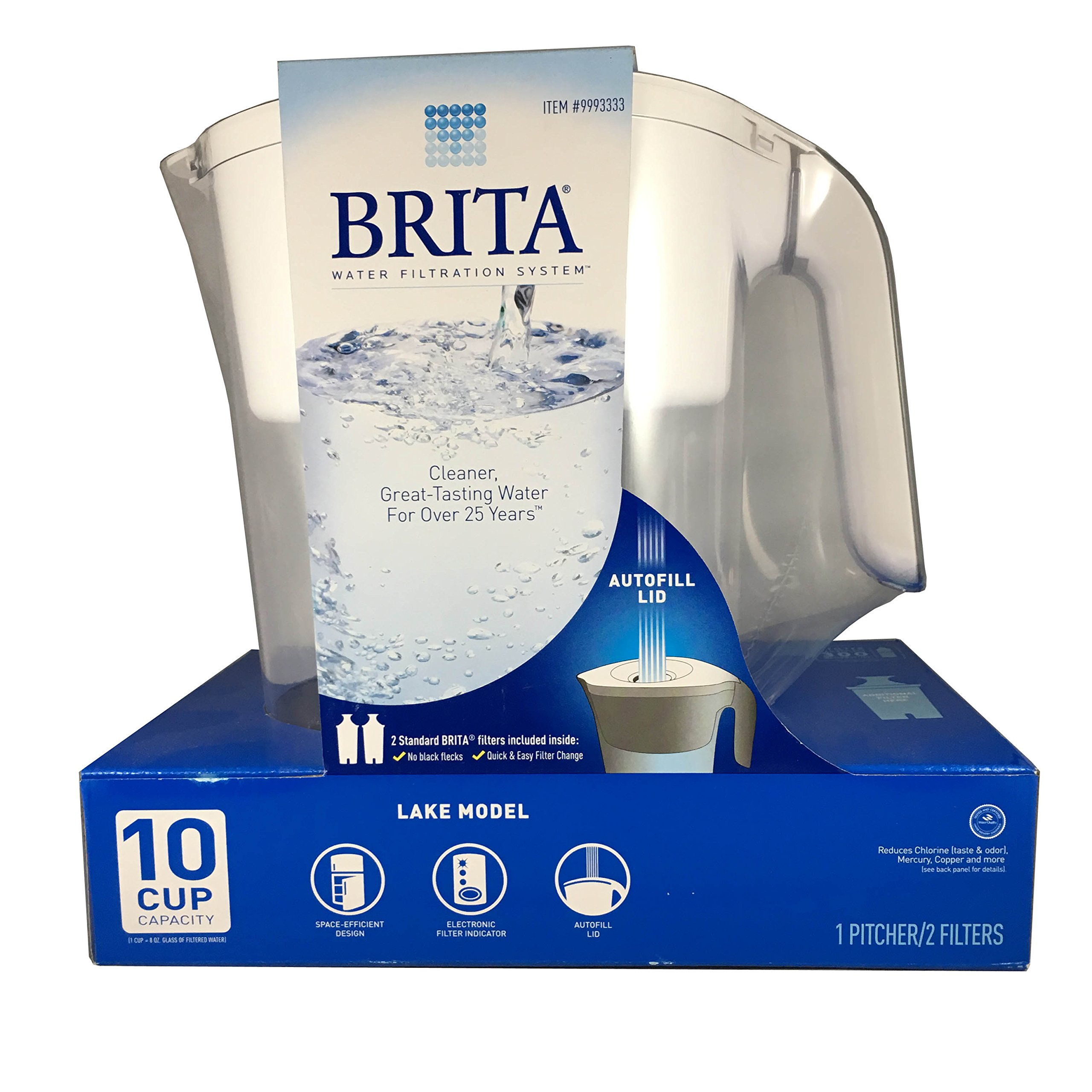 Brita Lake Model White 10 cup
