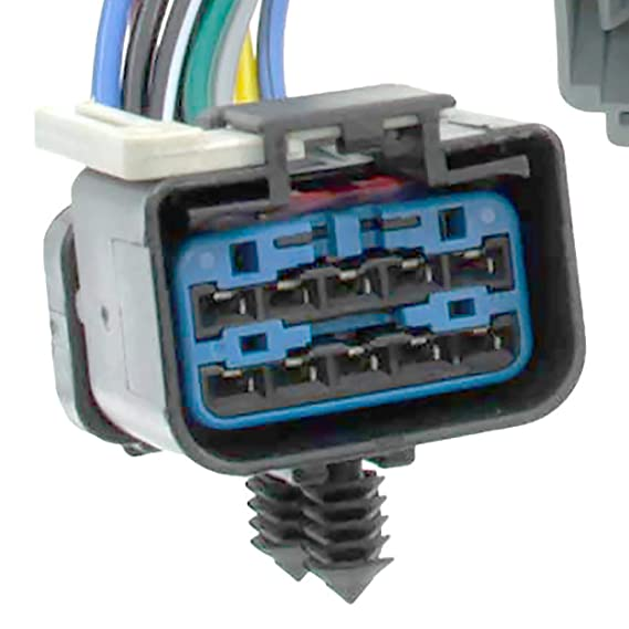 Amazon.com: APDTY 022190 Fuel Rail Fuel Injector Wiring Pigtail ...