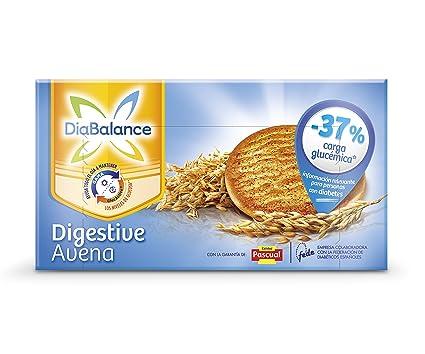 DiaBalance Galleta Digestive - Caja de 6 paquetes con 4 galletas - Total 204 gr
