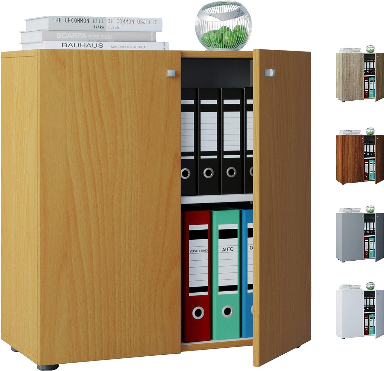 VCM Vandol Mini Mueble de Oficina Carpeta, Madera, Blanco, 70 x 70 x 39 cm: Amazon.es: Hogar