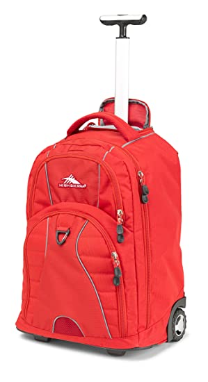 High Sierra Freewheel Backpack, Crimson Red Cycle Backpacks, Bags & Panniers at amazon