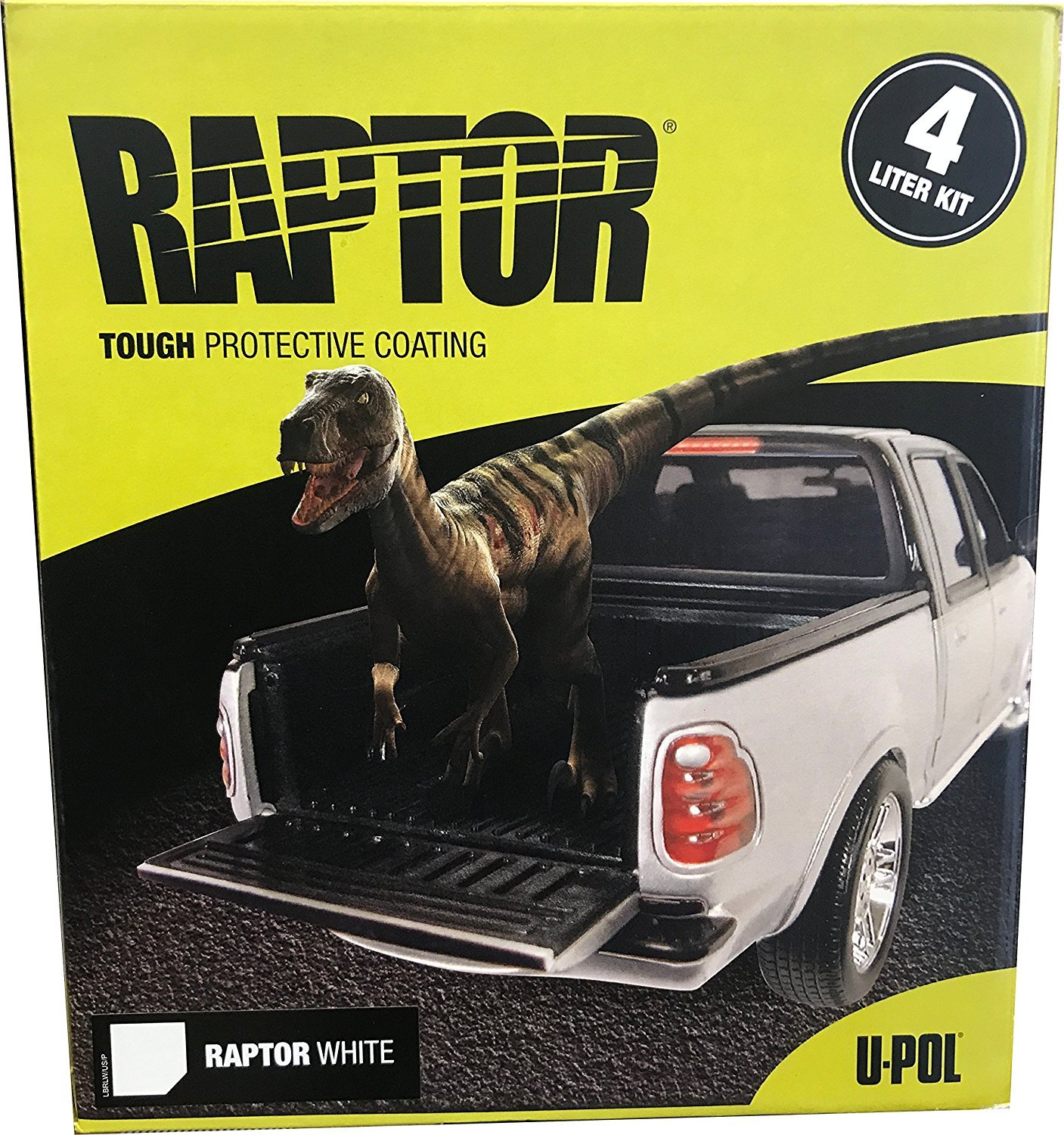 U-Pol Products RAPTOR WHITE NR 4L (UPL-UP4807)