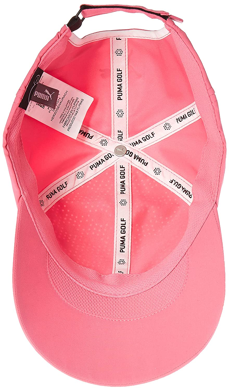 255b39bbd40 Amazon.com   Puma Golf 2018 Women s Duocell Hat (Carmine Rose