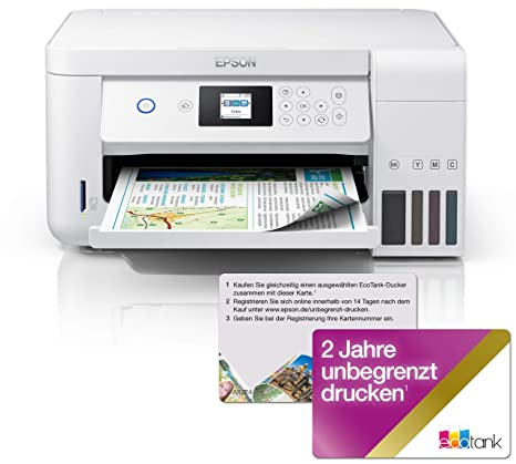 Epson EcoTank ET-2756 - Impresora multifunción 3 en 1 ...