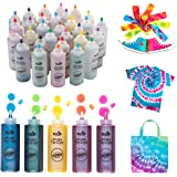 Tulip One-Step Tie-Dye Kit Ultimate Summer Bundle, Classroom Pack, Party Supplies Tie Dye, Durable Results-Includes 30 Bottle