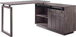 Acme Furniture Bellarosa Desk, Gray Washed