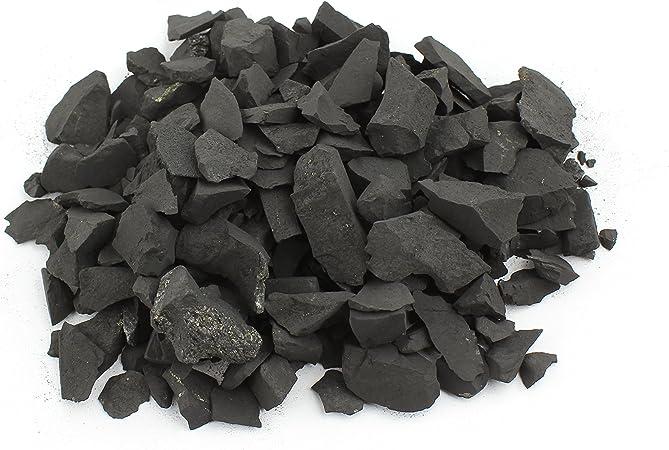 Piedras Shungita para la Purificación del Agua 500g de Piedras Color Negro Mate para Limpieza y Filtrado de Agua I Auténtica Shungit de Karelia, Rusia | 500 g: Amazon.es: Hogar