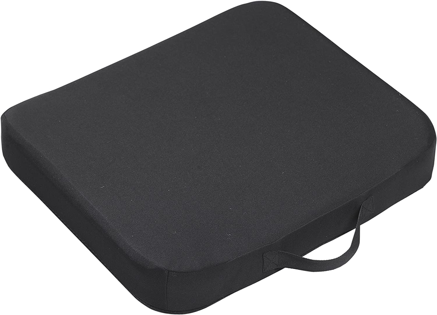 Drive Medical Comfort Touch Cooling Sensation Seat Cushion, Black
