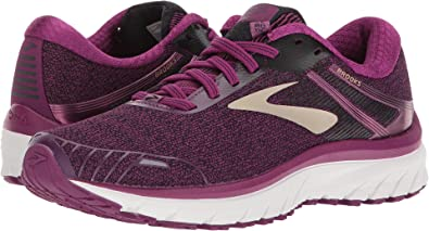 14ec53b64b53b Image Unavailable. Image not available for. Color  Brooks Women s  Adrenaline GTS 18 Purple Black Champagne ...