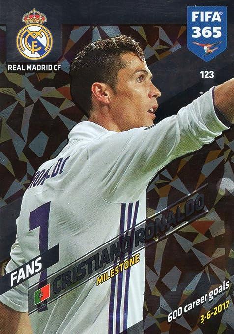 Amazon com: FIFA 365 2018 - CRISTIANO RONALDO MILESTONE CARD