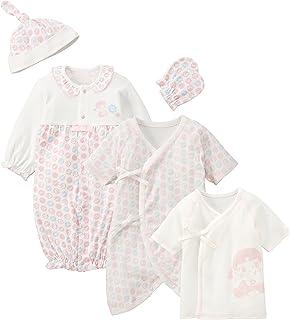 50085d3620f74 ベルコット ベビー服 BabyPeko ベビーペコちゃん 初めてのお洋服セット P-60864