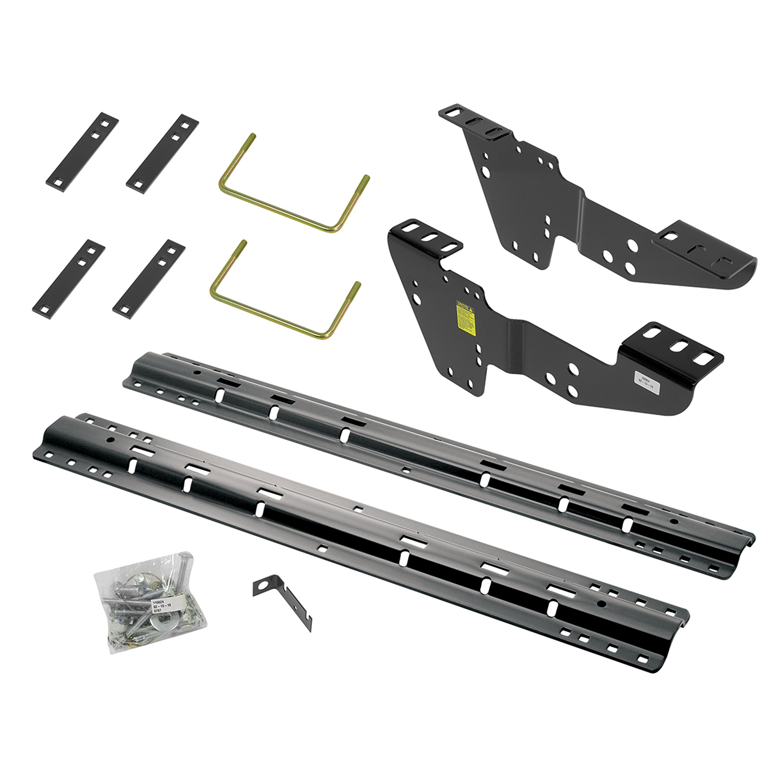 Reese 0225.0451 50064-58 Custom Fifth Wheel Brackets with 10-Bolt Rail Kit for Chevrolet, GMC, Silverado and Sierra by Reese
