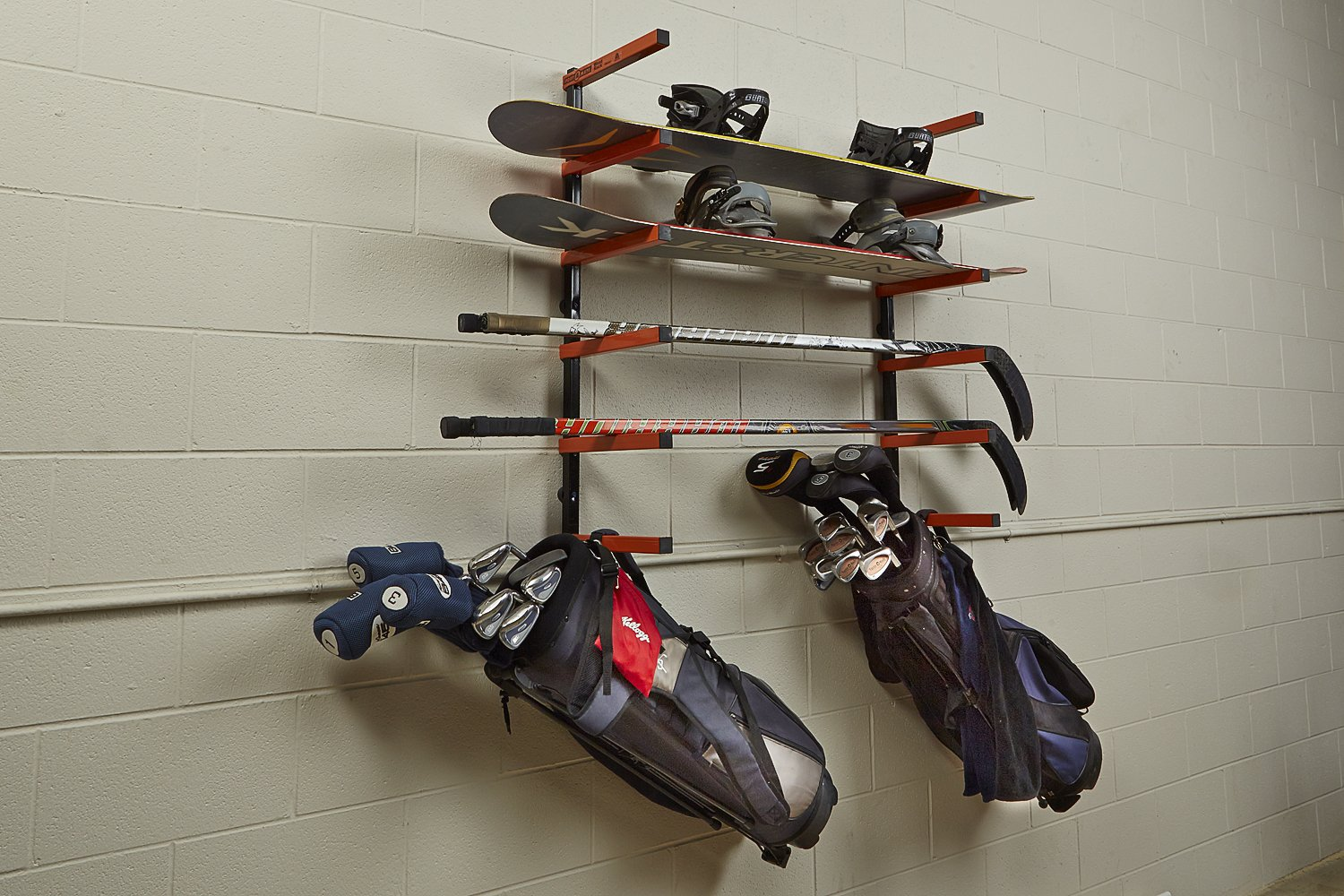How To Build A Wall Mounted Lumber Storage Rack