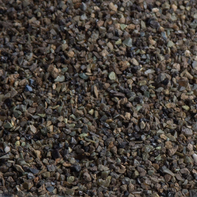 ideal geeignet zur Oberfl/ächenbehandlung 25 kg TESTRA/®R Strahlmittel 0,1-0,5 mm Calciumsilikatschlacke zum Sandstrahlen von Schicker Mineral