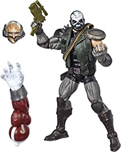 "Marvel Hasbro Legends Series 6"" Collectible Action Figure Skullbuster Toy (X-Men Collection) – with Caliban Build-A-Figure Part"
