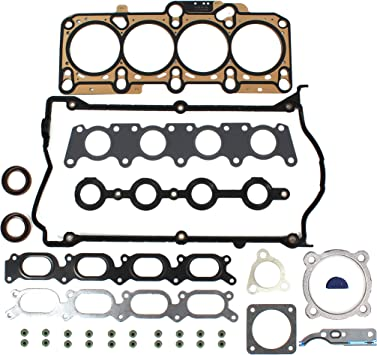 99-06 Audi VW 1.8T Turbo Cylinder Head Gasket Set Bolts Kit APH AWM engine motor
