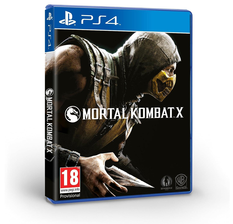Mortal Kombat X (PS4): Amazon co uk: PC & Video Games