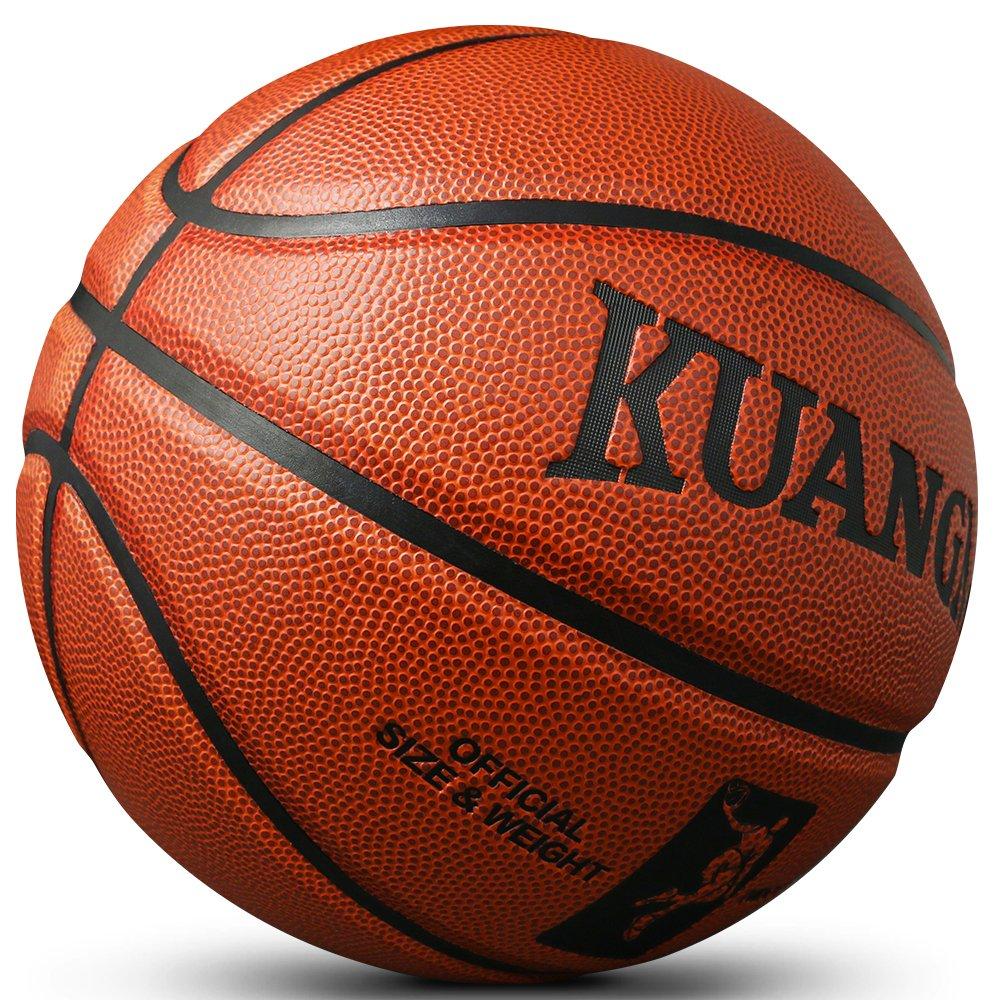 KuangmiバスケットボールPUレザー公式サイズ7 Competitiveチーム標準ボール B01AUG8B72