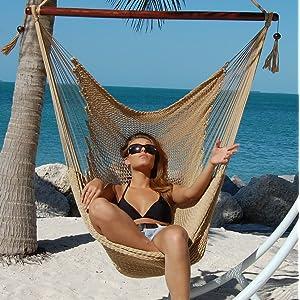 Caribbean Hammocks Polyester Hanging Chair