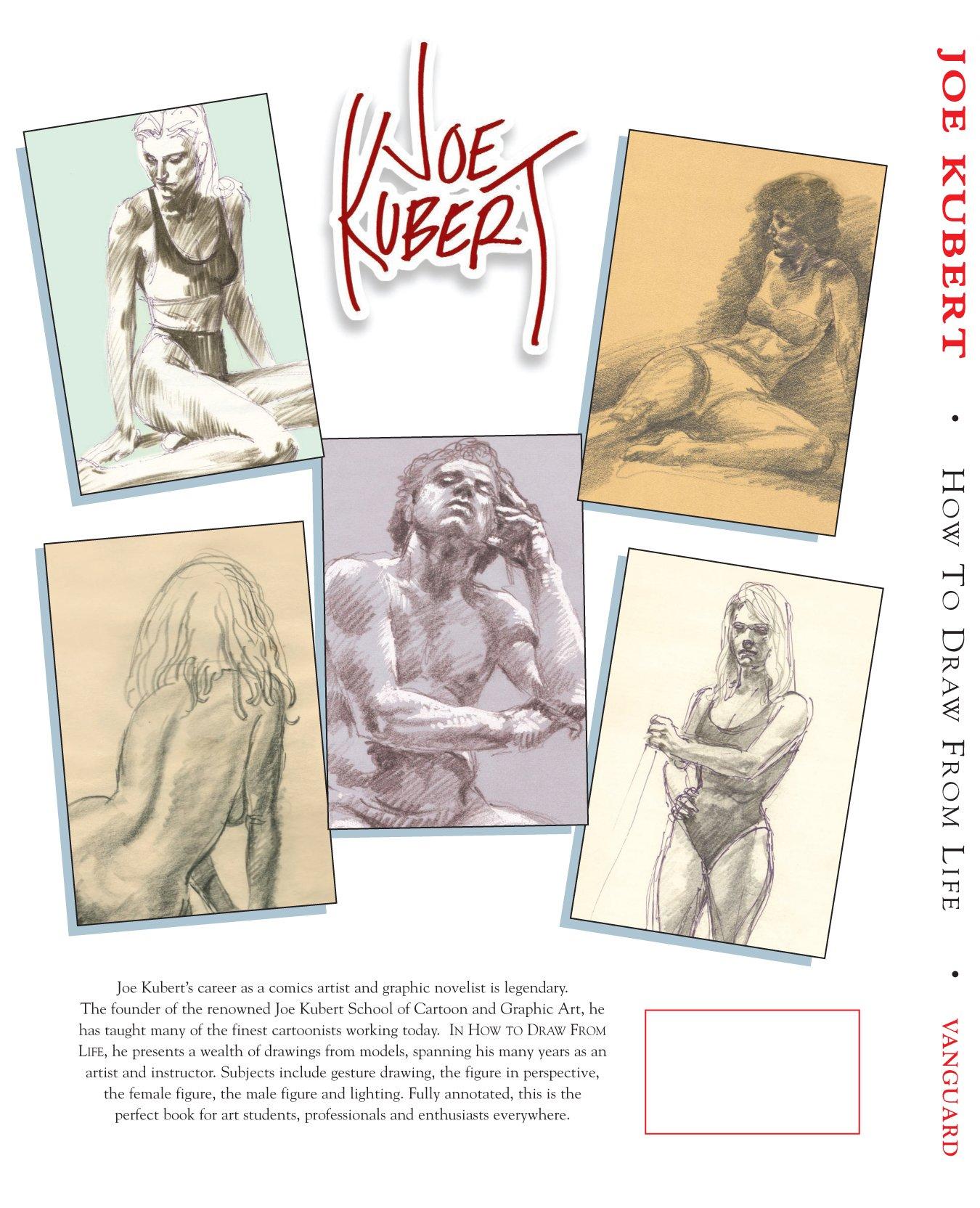 joe kubert how to draw from life pb vanguard drawing series