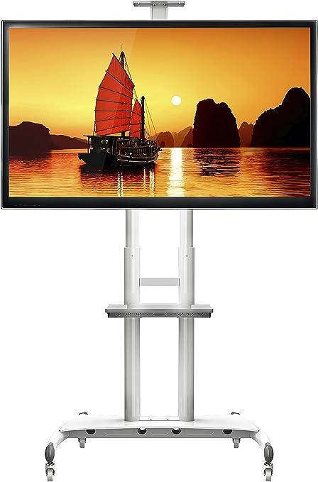 102 opinioni per STANDMOUNTS AVA1800-70-1WHITE Supporto per TV a pavimento per LCD LED Plasma