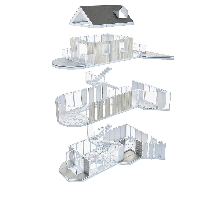 Arckit 180 Architect Model Building Kit (350 Piece) A10035