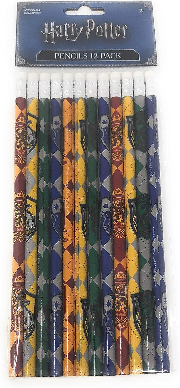 Pack de 12 lápices Harry Potter de Celebrations: Amazon.es ...