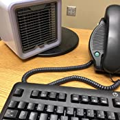 Polar Air, Personal Space Cooler, Portable Air Conditioner   The Quick & Easy Way to Cool Any Space, AC Adapter Included