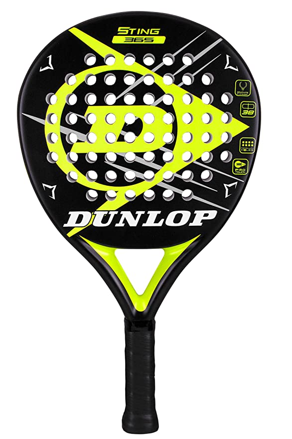 Amazon.com: Dunlop Sports Sting 365 2.0 - Pala de padel ...